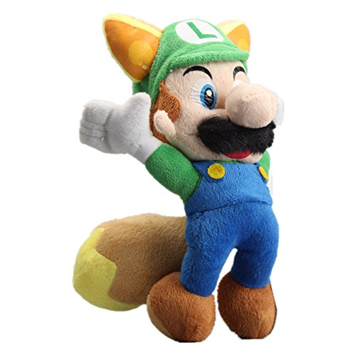 Cosplay 8' Plush - uiuoutoy Super Mario Bros. Flying Green Fox Luigi Plush 8''