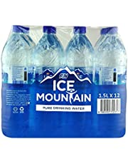 Ice Mountain Pure Drinking Water, 1.5L (Pack of 12)