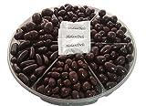 #6: Dark Chocolate Nuts Gift Basket, Almond in Dark Chocolate, Hazelnut in Dark Chocolate, Pistachio in Dark Chocolate, Orange Peel in Chocolate 2.5lb