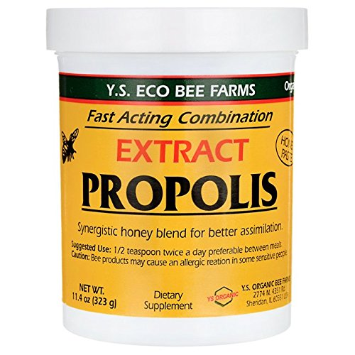 YS bee Farms - Propolis Extract in Honey - 11.4 oz