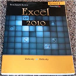 Book Benchmark Series: Microsoft®Excel 2010 Levels 1: Text with data files CD