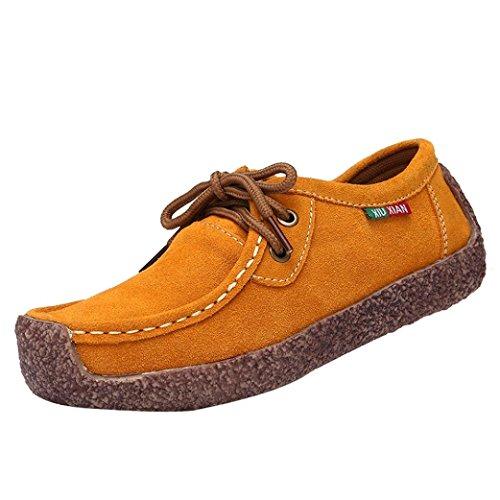 Sangle Sneakers Orange de Plat ❤️❤️ Slip Pois Loisir Mode JIANGfu Chaussures Bas Fond Bohème Chaussures Femme Sandales Plat Été Pantoufles Non afawFOq