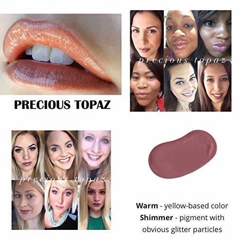 (LipSense Bundle - 1 Color & 1 Glossy Gloss - Precious Topaz)