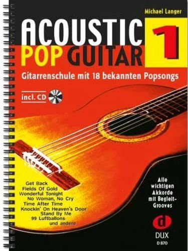 Acoustic Pop Guitar banda 1, incluye CD – La Guitarra Escuela con ...