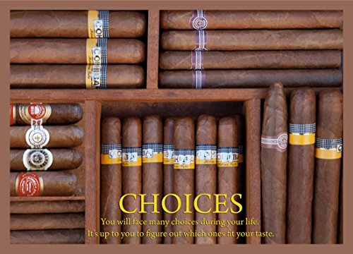"Posters Universe 16""x20"" Quality Poster.Choices.Cigar.Cuban.Habanos.Cohiba.Montecristo."