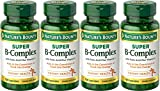 Nature's Bounty B-Complex with Folic Acid Plus Vitamin C, Tablets 150 Each (Pack of 4) For Sale