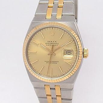 0fa1896bc7 Amazon   [ロレックス]ROLEX 腕時計 オイスタークオーツ デイトジャスト 17013 メンズ [並行輸入品]   並行輸入品・逆輸入品・ 中古品(メンズ)   腕時計 通販