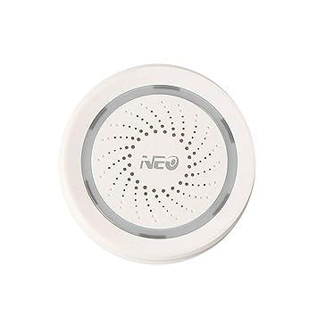 Sensor De Alarma De Sirena WiFi, istema De Seguridad para El ...