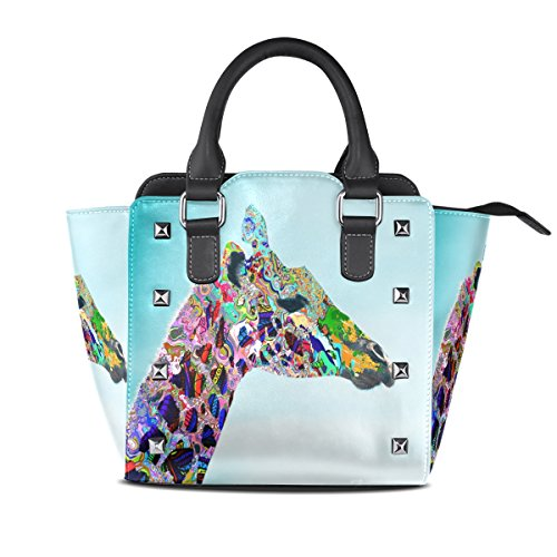 Lianchenyi Fabric Bag Pu Leather For Women Multicolor One Size Fits All