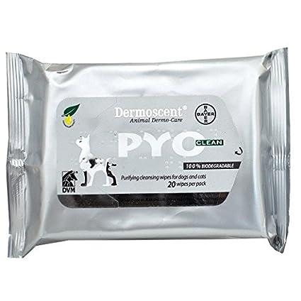 Dermoscent pyoclean toallitas para perros gatos (20 hilos)