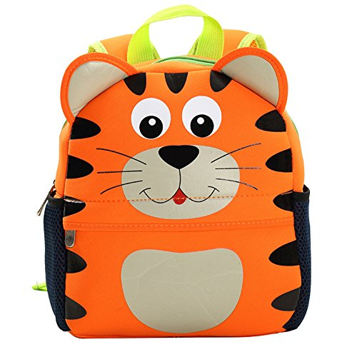Find Bargain Kids Backpack,10 Inch Digital Art Waterproof Toddler Kids 3D Cute Zoo Cartoon Pre Schoo...