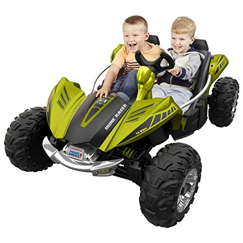 Fisher-Price Power Wheels Dune Racer Extreme 12-Volt Battery-Powered Ride-On (Green)
