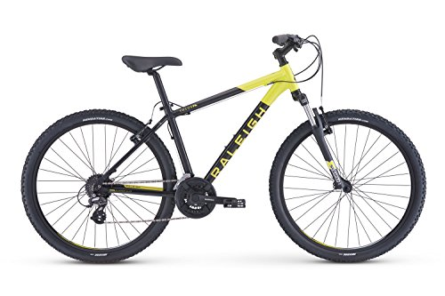 RALEIGH Bikes Talus 2 Recreational Mountain Bike, Black, 17