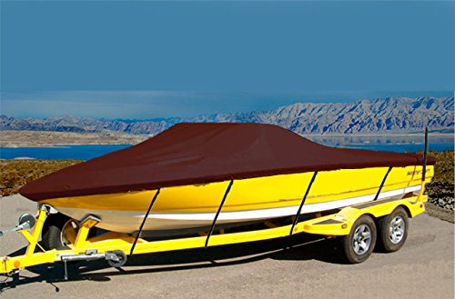 CRV-SBU 7oz Solution Dyed Polyester Material Custom Exact FIT Boat Cover BAYLINER Element 2013-2018