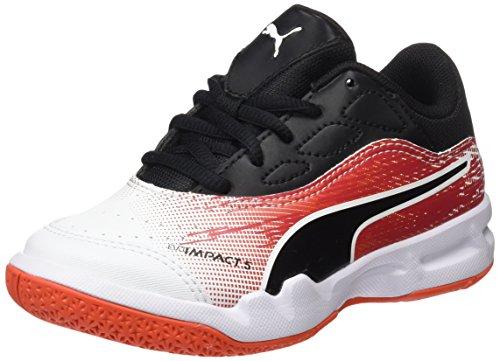 Evoimpact Puma Tomato de White Fitness Chaussures Blanc Jr 5 black cherry 3 Enfant Mixte T4dxTgr