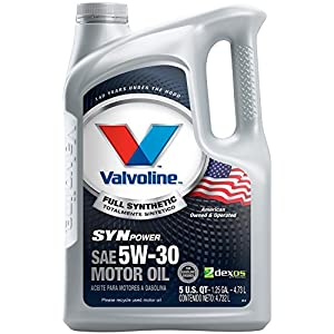 Valvoline SynPower 5W-30 Full Synthetic Motor Oil - 5qt (787007)
