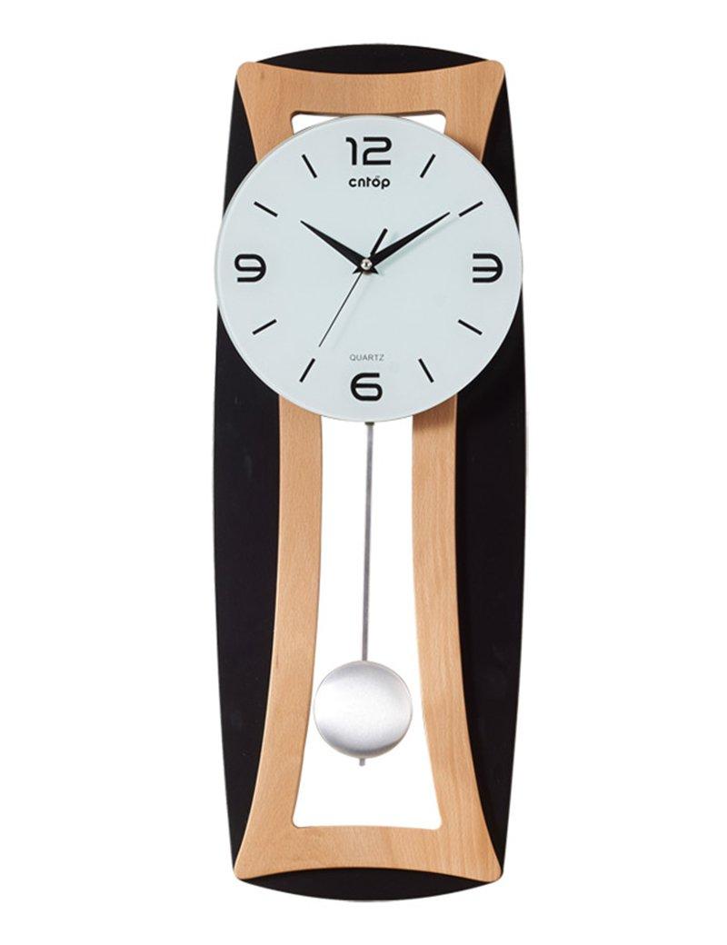 Cai 置き時計掛け時計-25インチ長いミュートの壁時計クリエイティブ手作りの壁時計のベッドルームリビングルームの創造性の壁時計(カラーオプション) ( 色 : A ) B07CCFQ7KM A A