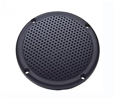 "PQN Enterprises Spa35-4GF Spa Marine Waterproof RV Dual Cone Speaker, Graphite, 3.5"" by PQN Enterprises"