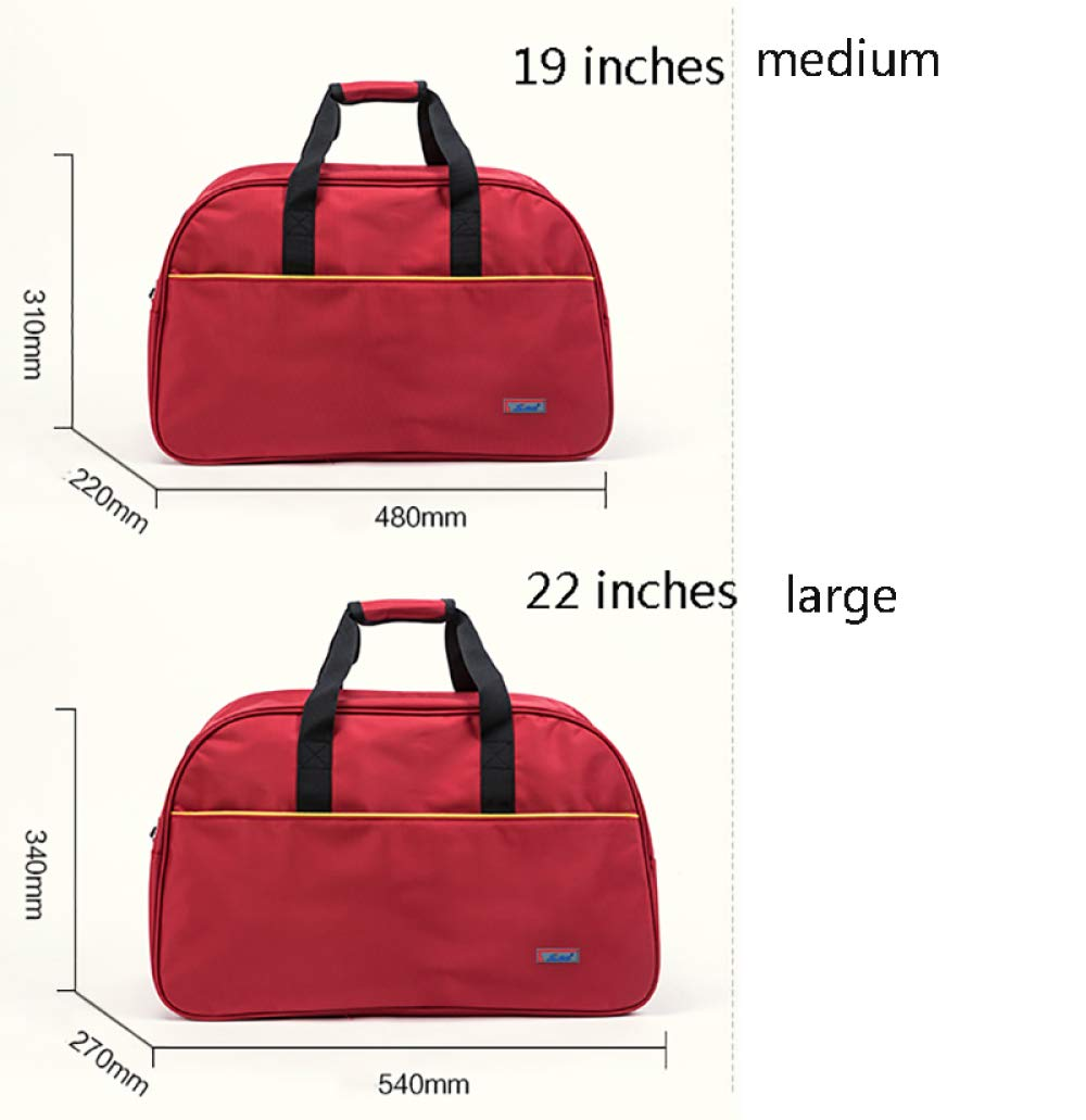LAIDAYE Quality Baggage Luggage Bag Travel Bag Business Travel Bag Men and Women Short-Distance Mobile Boarding Bag School Accommodation Large-Capacity Shoulder Bag Upgrade