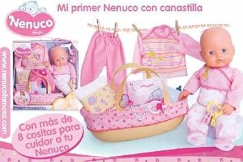 Famosa 277749 Mi Primer Nenuco con Canastilla