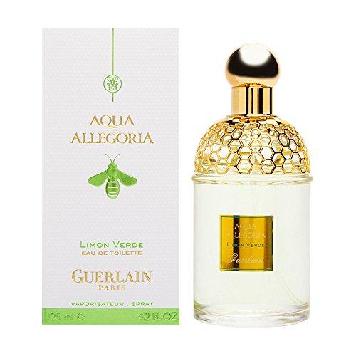 Guerlain Aqua Allegoria Limon Verde Eau De Toilette Spray for Women, 4.2 Ounce ()
