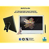 Yiynova MVP27U+RH Full HD Tablet Monitor,IPS Panel(Mac & Windows)(HDMI, DVI, mini-DP port)