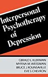img - for Interpersonal Psychotherapy of Depression by Gerald L. Klerman (1984-06-27) book / textbook / text book