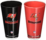 NFL Tampa Bay Buccaneers 20-Ounce Insulated Tumbler - 2 Pack