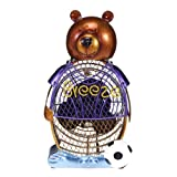 Deco Breeze Figurine Fan Bear, Soccer