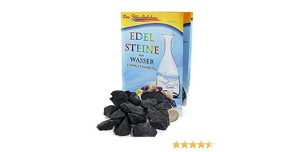 ... 200 G, diseño de piedras, Shungit Wasserenergetisierung, incluye una de piedras de un folleto para tratamiento de agua: Amazon.es: Hogar