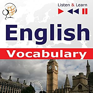 English Vocabulary - Listen and Learn to Speak Audiobook