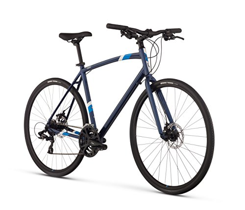 Raleigh Cadent 2 Urban Fitness Bike, 21' /XL Frame, Blue, 21' / X-Large