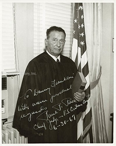 Paul P. Rao Inscribed Photograph Signed 06/30/1967