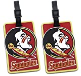 Florida State Seminoles - NCAA Soft Luggage Bag Tag - Set of 2