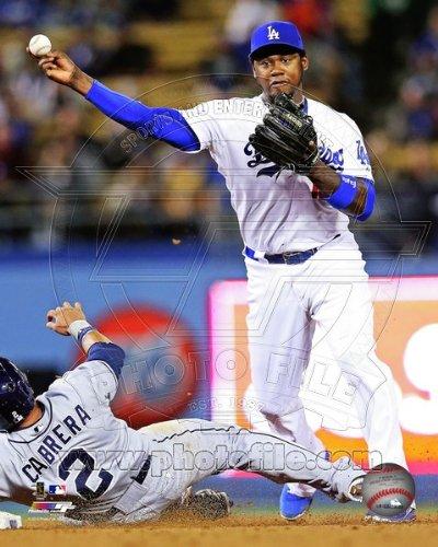 Hanley Ramirez Los Angeles Dodgers 2013 MLB Action Photo ()