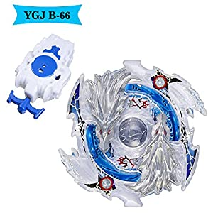YGJ Battling Tops B-66 Lost Longinus.N.Sp Burst Beyblade Starter With String Launcher B-66