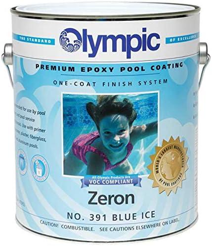 Olympic Zeron One-Coat Blue Ice Paint