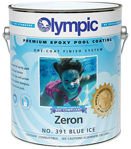 - Kelley Technical 391GL Olympic Zeron Epoxy Pool Coating - Blue Ice
