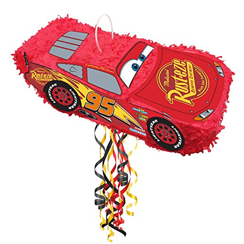 Party 3d Pinata - Amscan Disney Cars Lightning McQueen 3D Pinata (1)