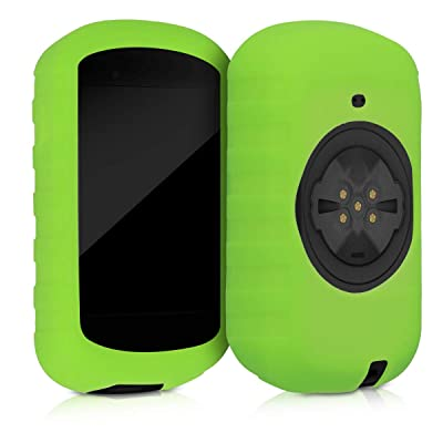kwmobile Case Compatible with Garmin Edge 830 - Soft Silicone Bike GPS Navigation System Protective Cover - Green: Sports & Outdoors