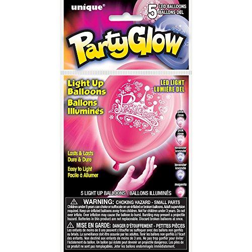 Latex Princess LED Light Balloons