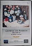 Gardenias & Rosebuds - Floral Still Life by Johnnie Liliedahl