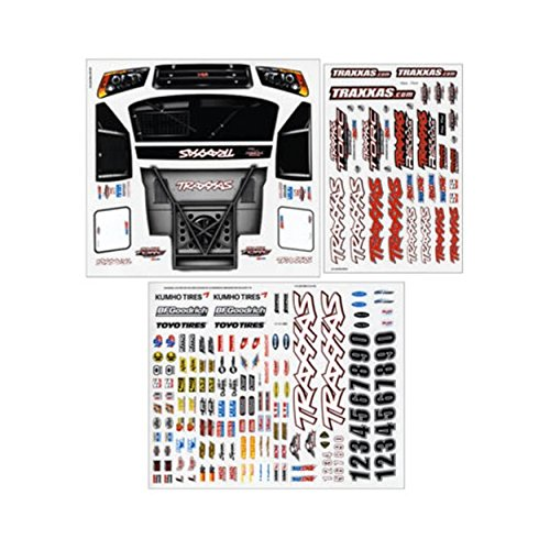 Truck Decal Sheet (Traxxas 6813 Slash 4x4 Decal Sheet)