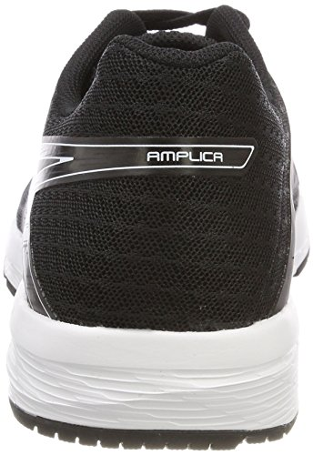 Black White 9090 Amplica Running Negro para Asics Black Mujer Zapatillas de S0BWqf