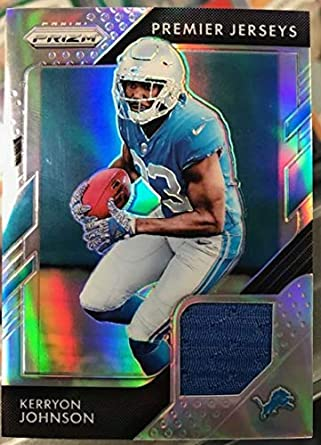 san francisco 96ec5 00338 Amazon.com: 2018 Panini Prizm Prizm Premier Jerseys Football ...