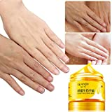 Facial Mask After Waxing - Yeefant 150g Honey Milk Hand Wax White Moisturizing Tender Exfoliating Whitening Replenishment Propolis Hand Mask for Women