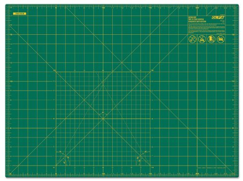 Gridded Rotary Mat (Olfa Gridded Cutting Mat-18