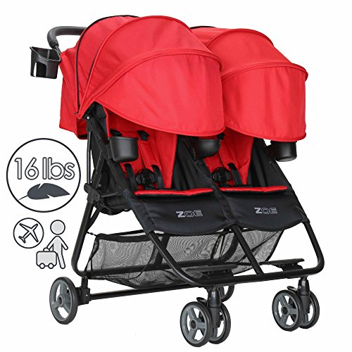 5 Point Harness Double Umbrella Stroller - 5