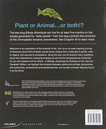 Biology: Exploring the Diversity of Life, Volume 1