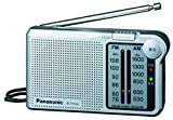 Panasonic FM / AM 2 Band Radio RF-P150A-S Silver